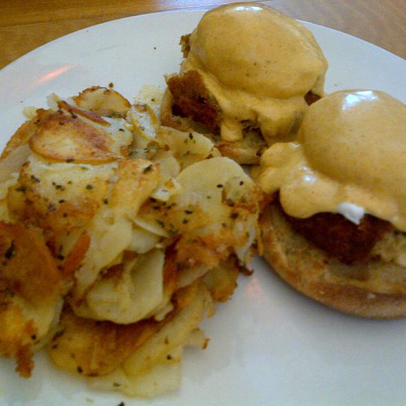 Crab Cake Benedict @ Cafe M