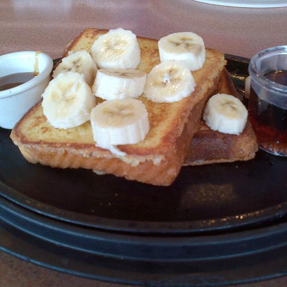 Banana Caramel French Toast Skillet @ Denny's