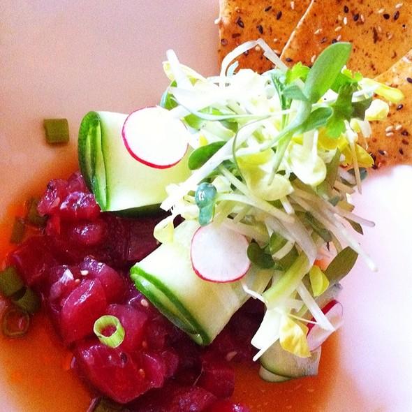 Local Bluefin Tuna Tartare& Crab Dungeness Salad