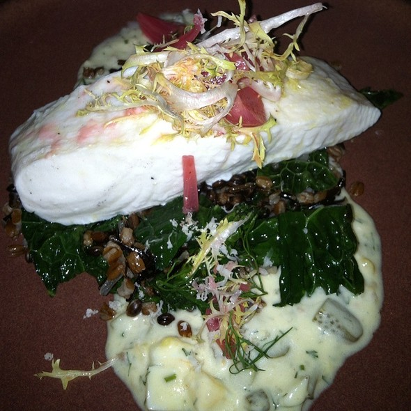 Steamed Halibut @ The Dutch