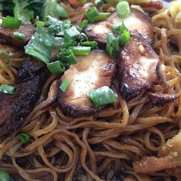 Char Siew Wan Tan Noodles @ Sri Weld Food Court