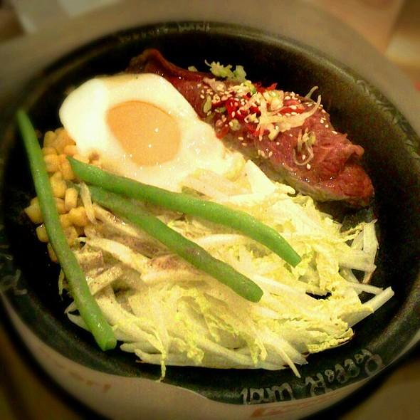 Wagyu Beef Skirt Steak @ Pepper Lunch