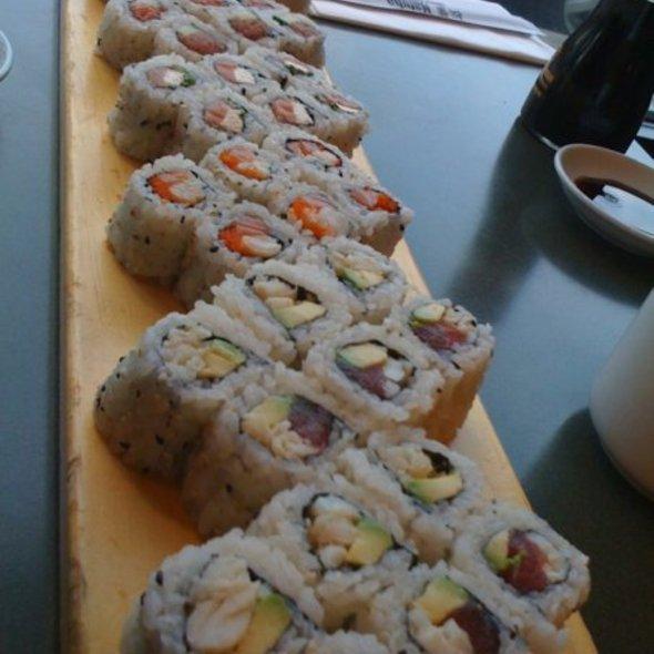 Sushi Spread - Matuba Japanese Restaurant, Bethesda, MD