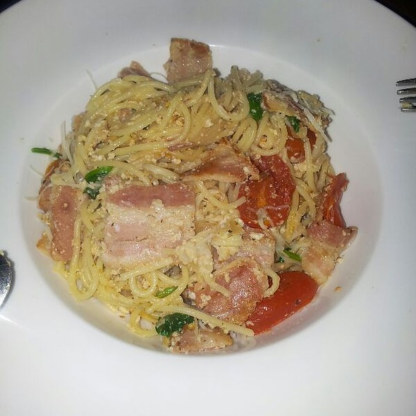 Spaghetti Carbonara @ AER Pub & Restaurant