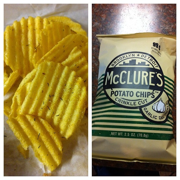 Mcclure's Garlic Dill Potato Chips