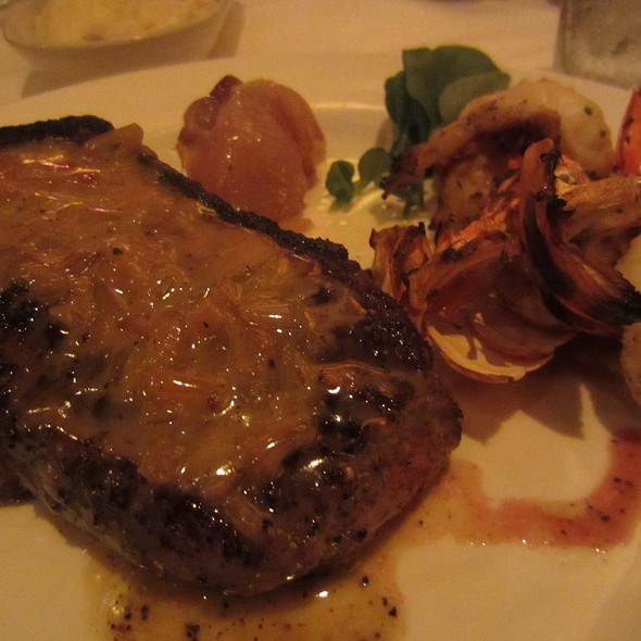The Capital Grille - Bone-In Kona Crusted Dry Aged Sirloin ...