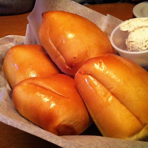 Fresh Baked Rolls @ Texas Roadhouse