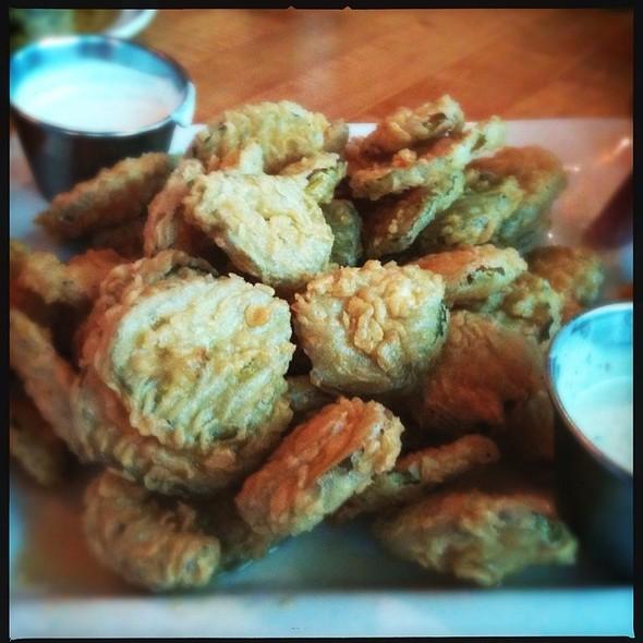 Fried Pickles - Chez Zee, Austin, TX