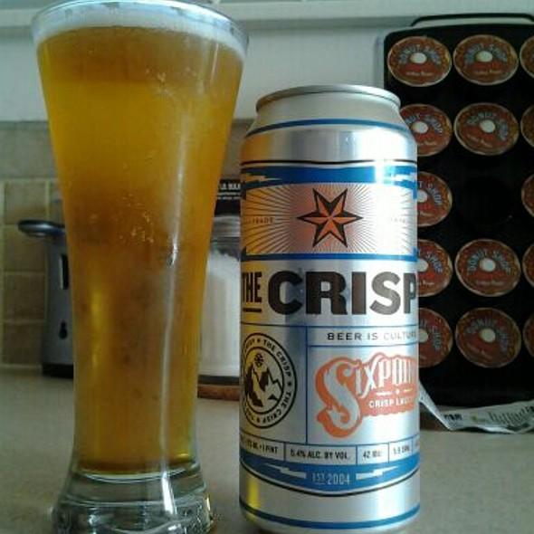 The Crisp @ Home Beer Garden