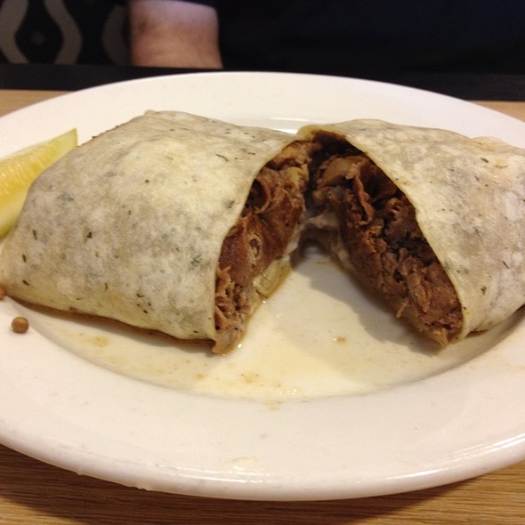 Cheesesteak Wrap