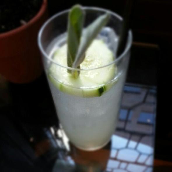 Sage Cocktail @ Vedge