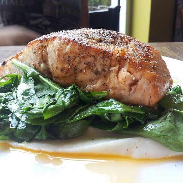 Pan Seared Salmon  - The Tasting Room - CITYCENTRE, Houston, TX