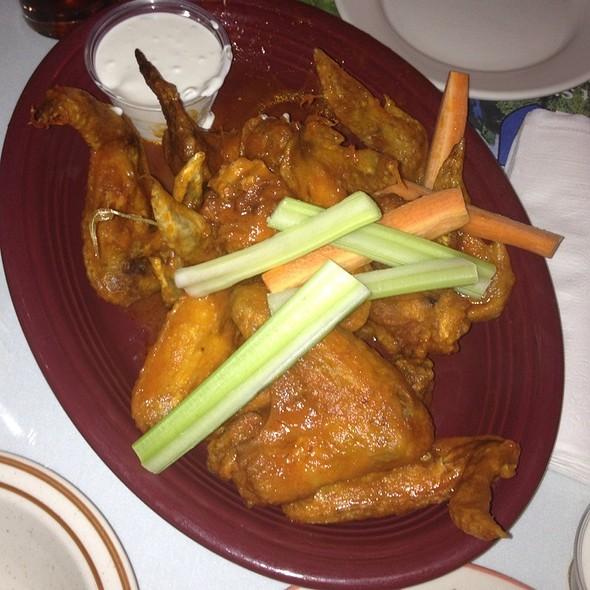 Buffalo chicken wings @ Moriarty's Restaurant