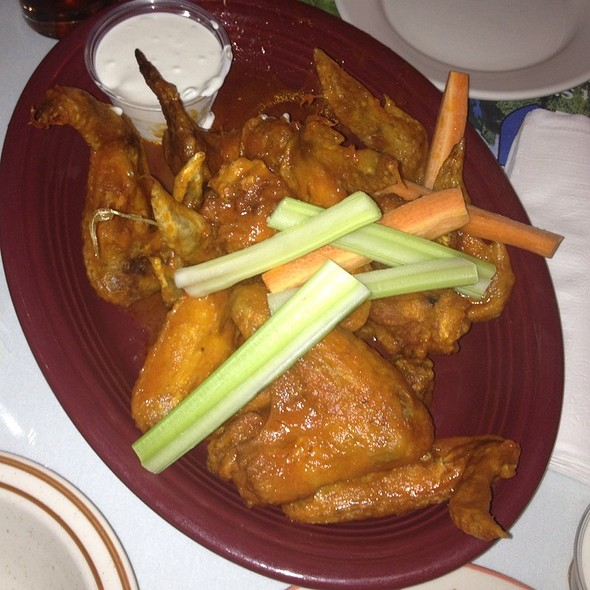 Buffalo chicken wings @ Moriarty's Restaurant