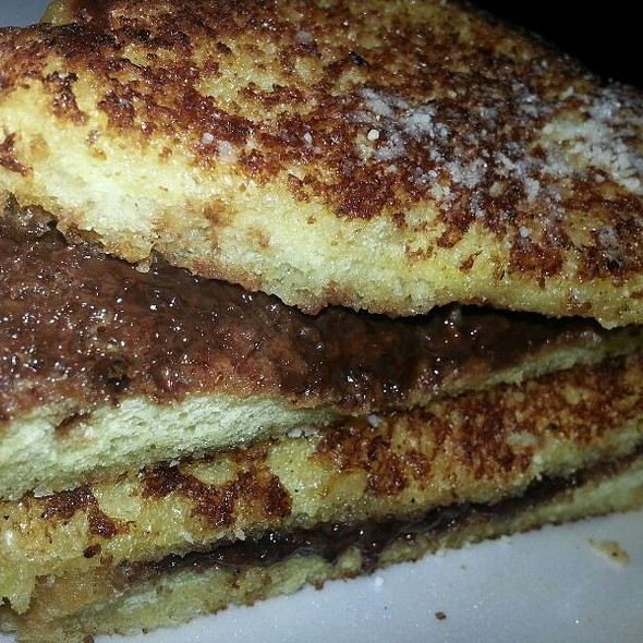 Mascarpone/Nutella Grilled Cheese