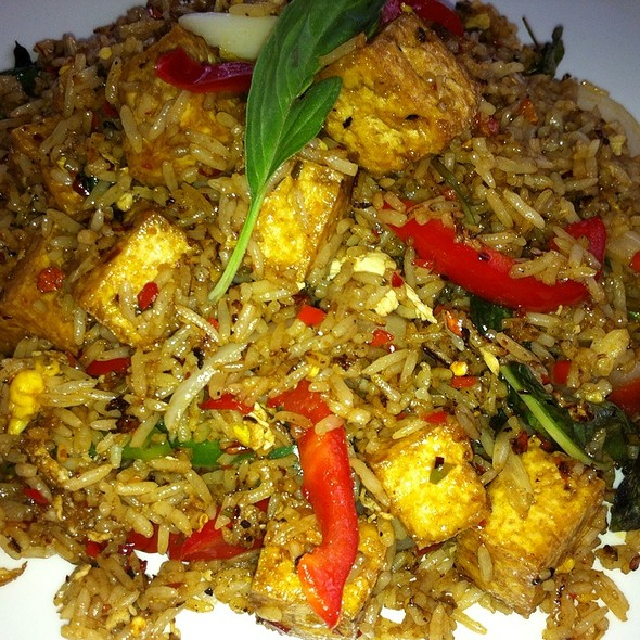Spicy Basil Fried Rice @ Rice & Spice Thai Cuisine