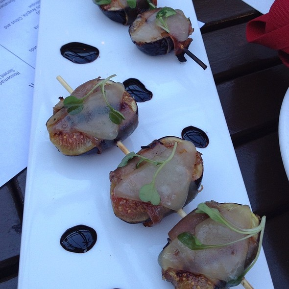 Prosciutto Wrapped Figs @ Red Rabbit Kitchen & Bar