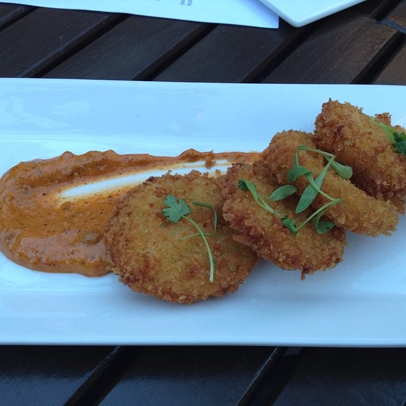 Fried Green Tomatoes @ Red Rabbit Kitchen & Bar