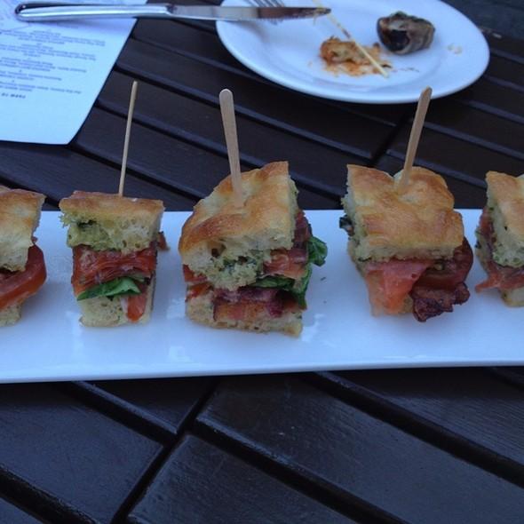 Salmon BLT @ Red Rabbit Kitchen & Bar