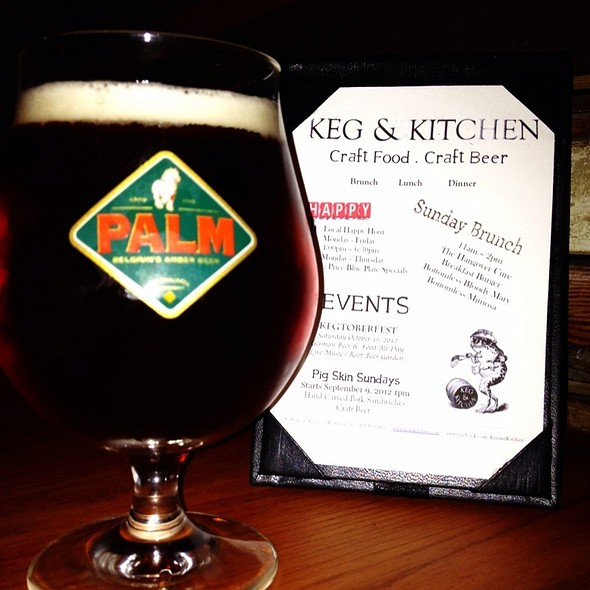 Palm Pale Ale (Bel) - Keg & Kitchen, Westmont, NJ