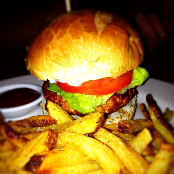 Hellfire Turkey Burger - Keg & Kitchen, Westmont, NJ