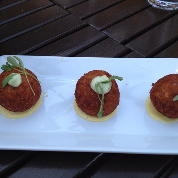 Risotto Croquette @ Red Rabbit Kitchen & Bar