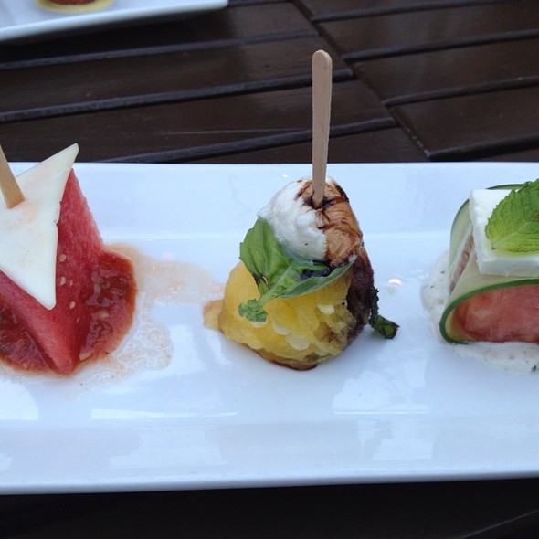 Watermelon 3 Ways @ Red Rabbit Kitchen & Bar