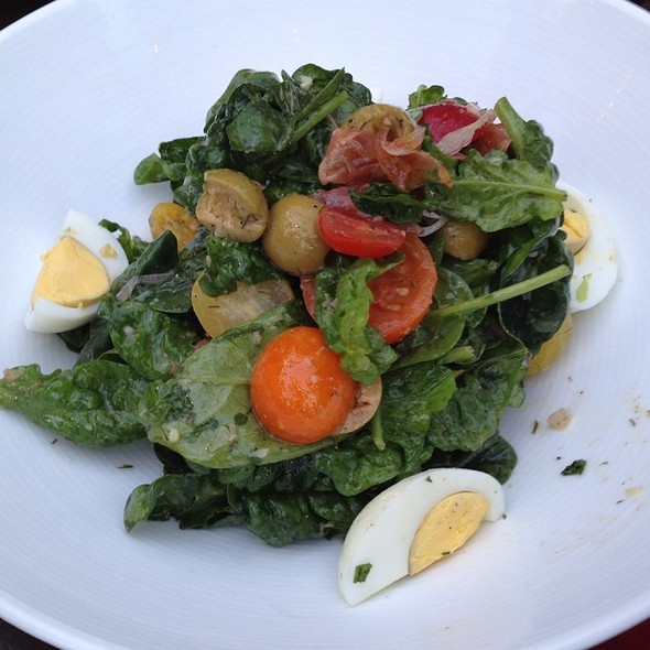 Another Spinach Salad @ Red Rabbit Kitchen & Bar