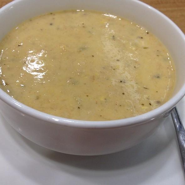 Cream of Crab Soup @ Island Chicken Grill