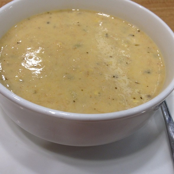 Cream of Crab Soup @ Island Chicken Grill