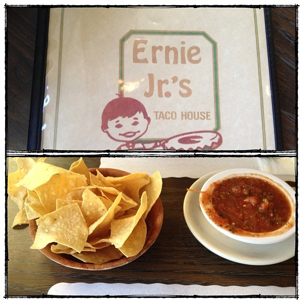 Chips and Salsa @ Ernie Jr's Taco House