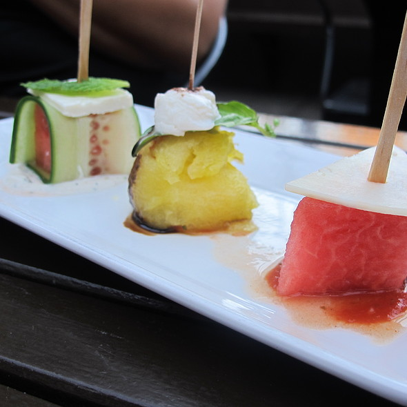 Watermelon 3 Ways @ Red Rabbit Kitchen & Bar