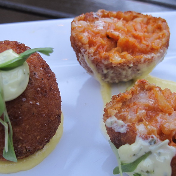 Risotto Croquettes @ Red Rabbit Kitchen & Bar