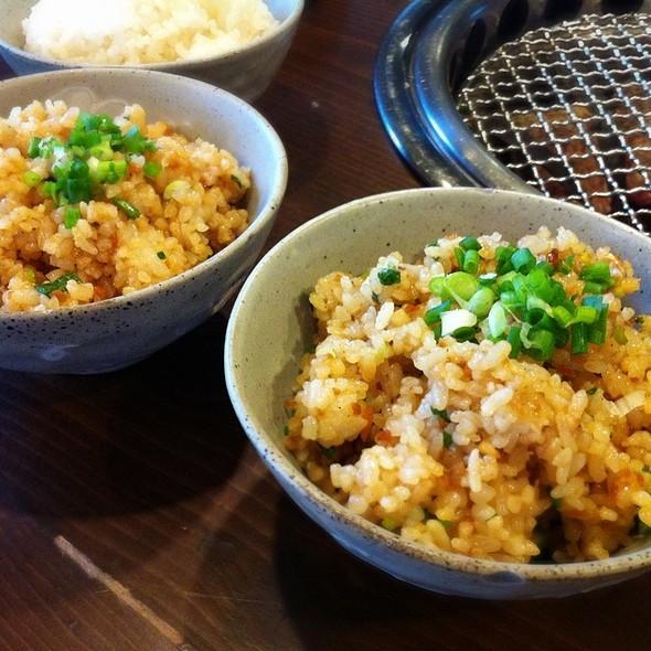 Garlic Fried Rice @ Yakiniku Bar@53