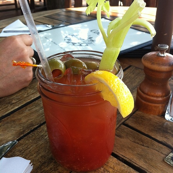 Bloody Mary @ The Cottage at Mirror Lake Inn