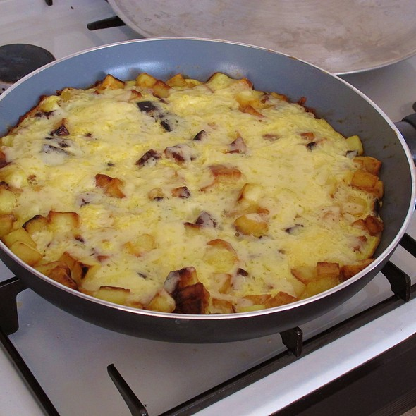 Potato Omlette @ Home