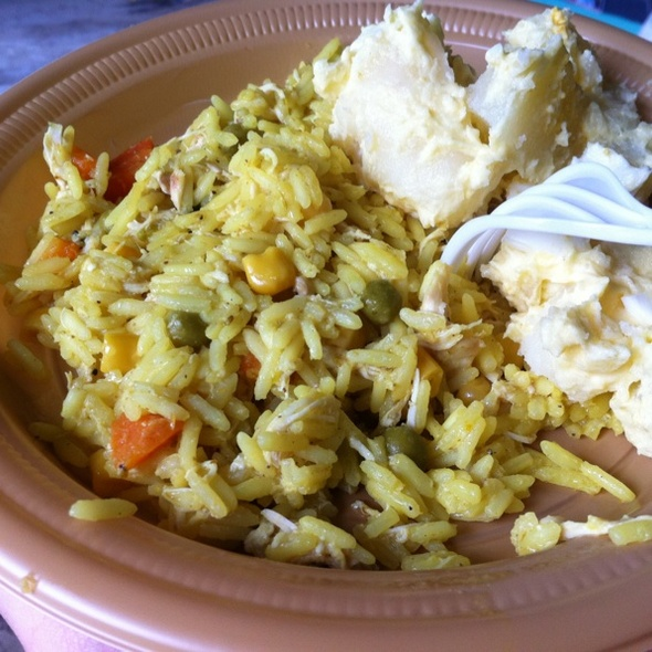 Chicken Curry Rice & Potato @ @compassion Lunch For The Kids