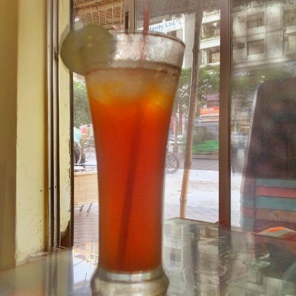 Ice Tea @ Cha Bar