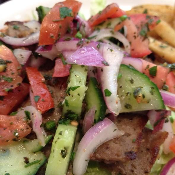 Gyros with fries and Tsatziki - Jackson Fillmore Trattoria, San Francisco, CA