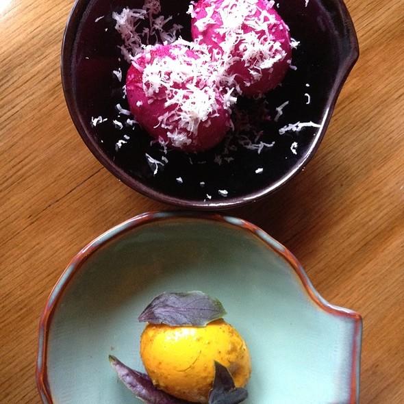 Beet & Horseradish Pickled Egg @ St. Vincent