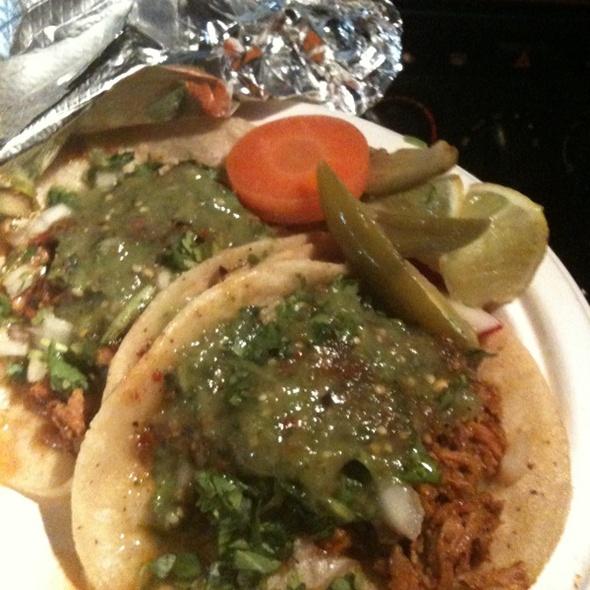 Al Pastor Taco @ Tacos El Tuca