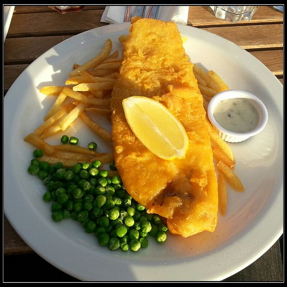 Fish and Chips @ Missoula Piccadilly Manchester.