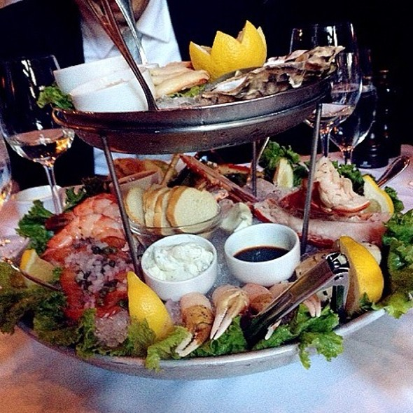 Seafood Tower - Gotham Steakhouse and Bar, Vancouver, BC