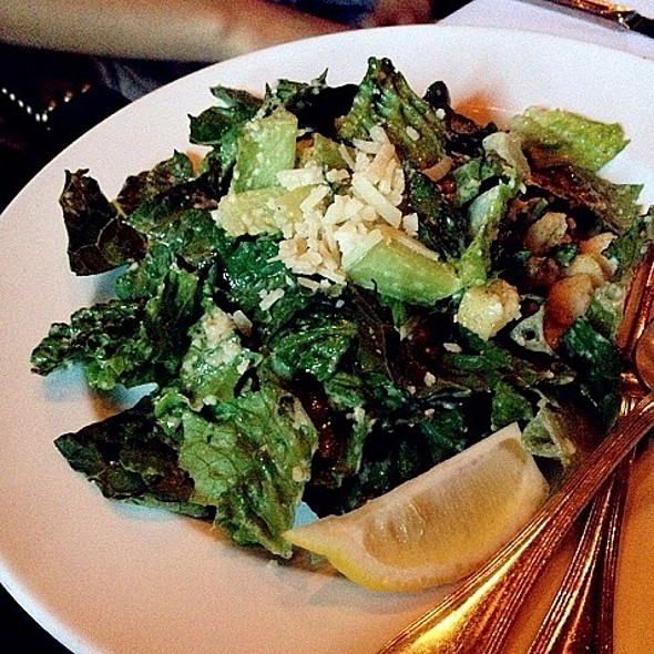 Caesar Salad - Gotham Steakhouse and Bar, Vancouver, BC