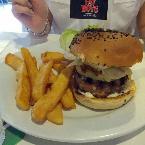 Mahalo Burger @ Fatboy's Burger
