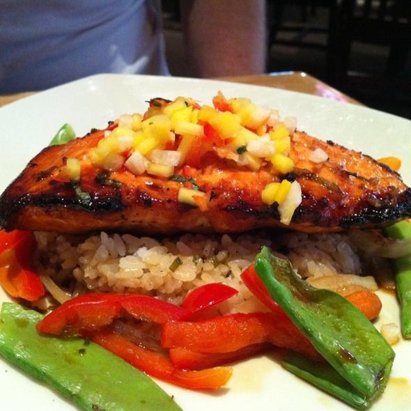 Thai Chili Salmon @ BJ's Restaurant & Brewhouse