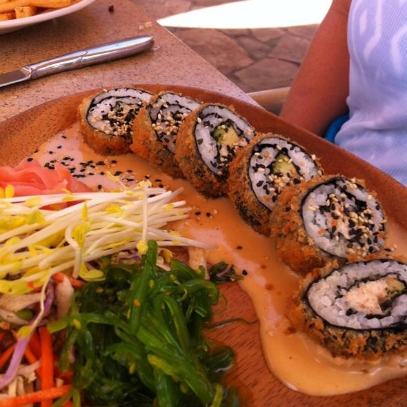 Sushi Roll @ Sea House Restaurant