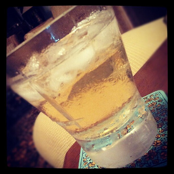 Ahhhhhhhhhh... Nothing like a glass of fine Irish on the eve of my first ever double-em :P @ Sunder nagar