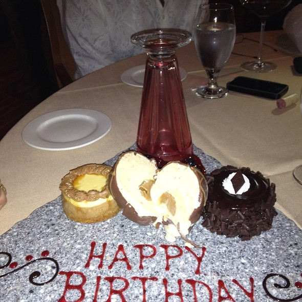 Cappuccino Cheesecake - Don Vito's Italian - South Point Casino, Las Vegas, NV