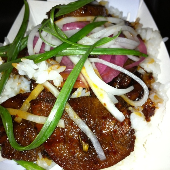 Bbq Beef Tongue @ Not Your Mama's Food Truck